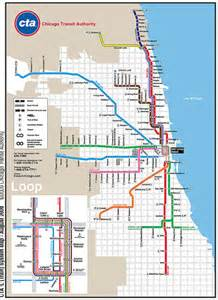 Chicago Public Transportation Map by Cta Train Map Flickr Photo Sharing