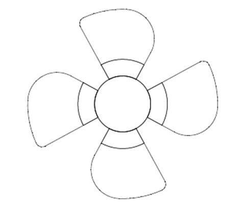 how to draw a boat propeller in solidworks modeling a fan blade 12cad