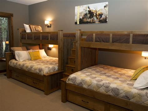 custom made bunk beds another good idea custom built in bunk beds two twins