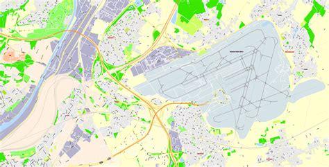 printable map brussels printable map brussels belgium g view level 17 ai 10 ai pdf 26