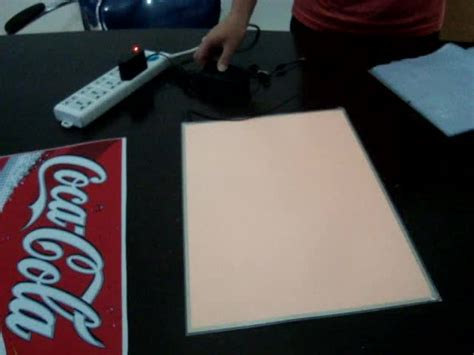 Polyfoam A3 manufacturer high brightness el backlight panel sheet buy thin el backlight el backlight sheet