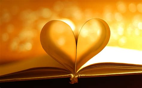 hearts on books book pages light photo hd wallpaper