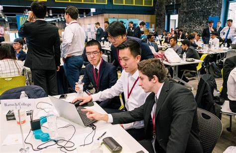 Baruch Mba Majors by Baruch College Trading Floor Thefloors Co