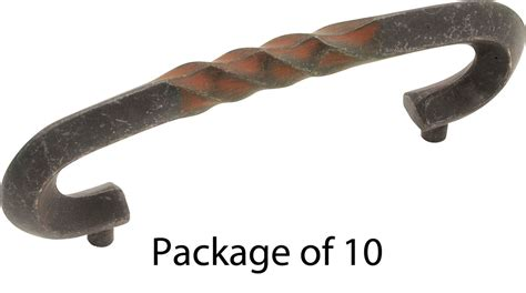 hickory hardware xtpa1323 ri rustic iron country rustic