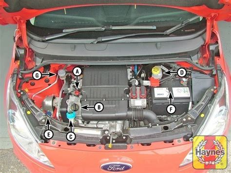 ford ka bonnet diagram ford ka fuse box bonnet wiring diagram with