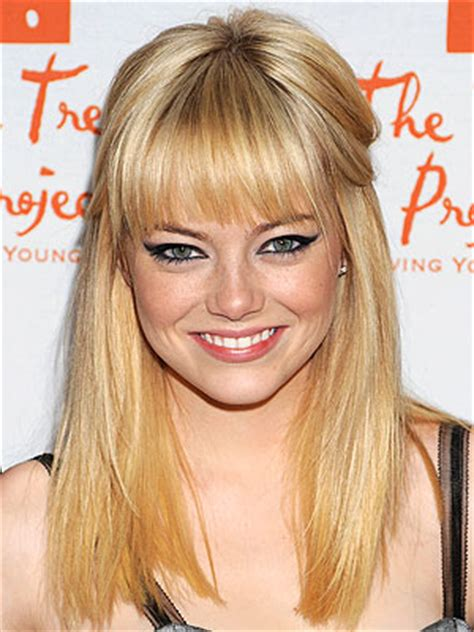 difference between blunt and rounded bangs how to pull off bangs with any face shape fringes face