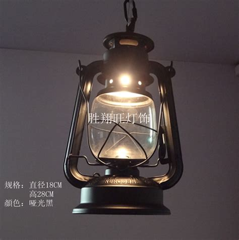 Indoor Lantern Light Fixtures Selling European American Quality Retro Barn Lantern Kerosene L Pendant Lighting Indoor