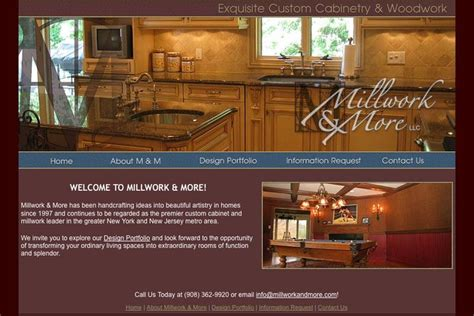 woodworkers web millwork more branding several marketing and identity