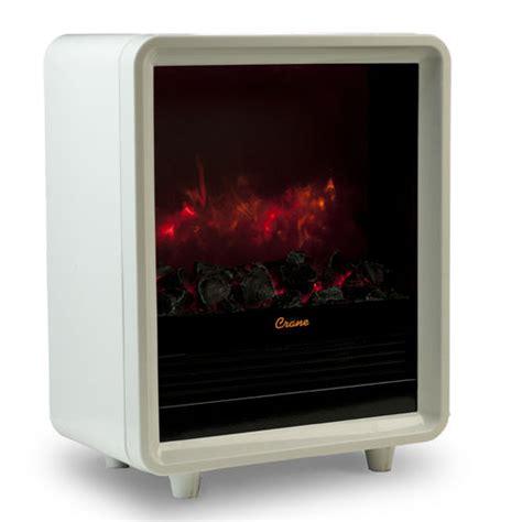 mini kamin mini fireplace heater at brookstone buy now
