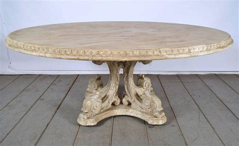 paint dining table painted carved dining table with distressed finish