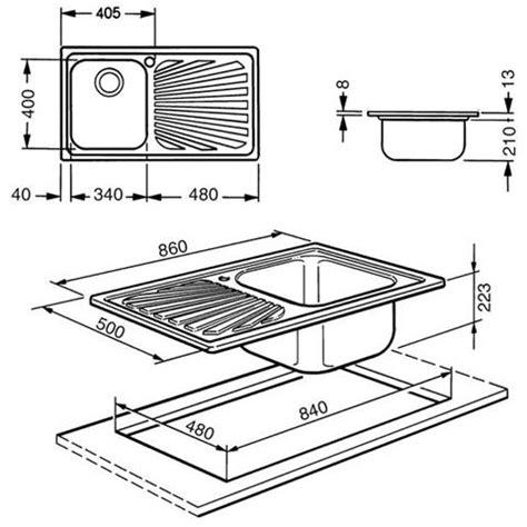 misure lavelli da incasso smeg sp861d lavello da incasso in acciaio inox satinato