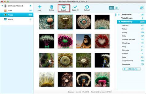 backup libreria iphoto trasferire foto da iphoto su iphone e da iphone su iphoto