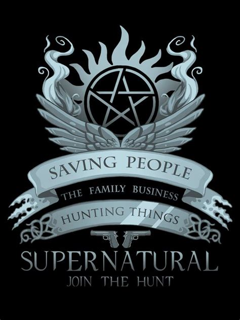 tattoo the family business saving people hunting things the family business para
