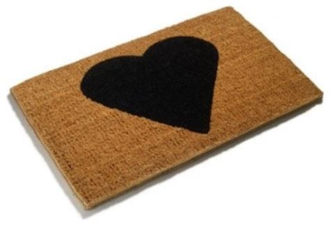 modern doormats heart love doormat modern doormats by make an entrance