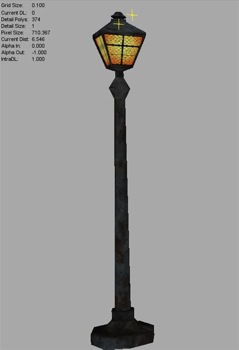 street light floor sow environment art