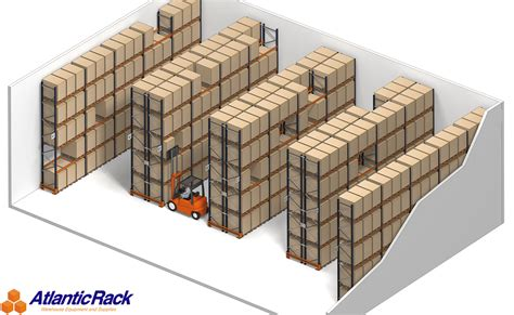 Pallet Rack Systems by Selective Pallet Rack Storage System Atlantic Rack