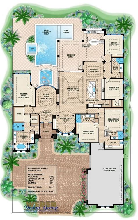 Mediterranean House Floor Plan And Design | mediterranean house plan for beach living ideas for the