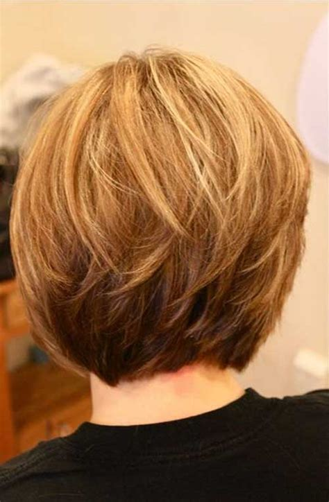 stacked cut hairstyle for older women short stacked bob hairstyles you will love the best