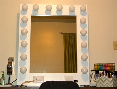 Style Vanity Mirror With Lights by Be U Tiful Imperfection Is Madness Is Genius
