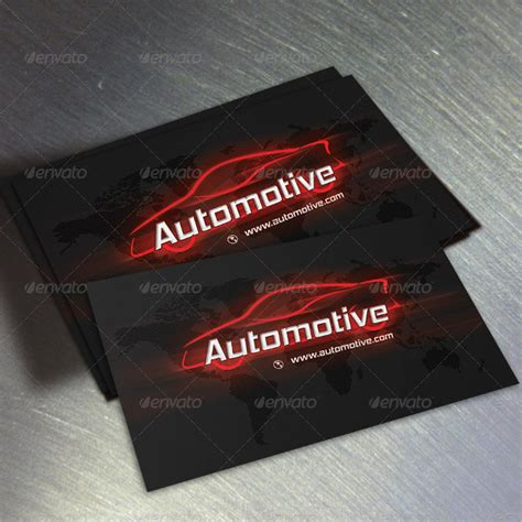 Auto Business Cards Templates by 18 Automotive Business Card Templates Free Premium