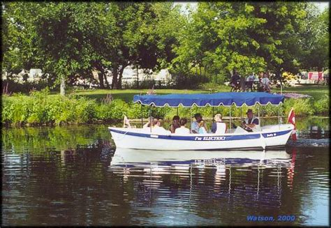 boat launch rideau canal rideau canal waterway photo electric launch quot harriet by quot