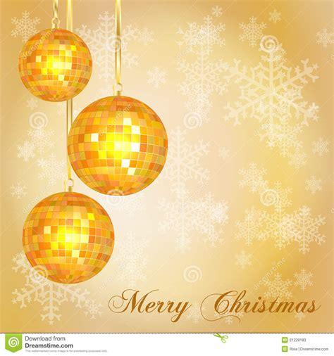 christmas card template gold stock photos image 21228183