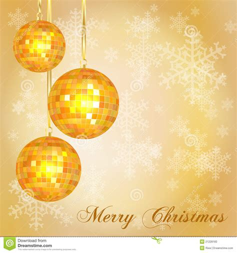 Christmas Card Template Gold Stock Photos   Image: 21228183