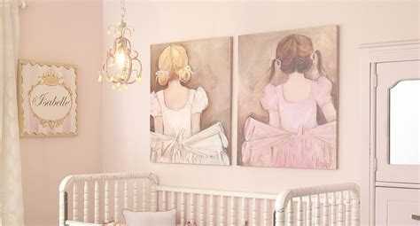 ballet room theme ideas for little girls rooms off the wall pink ballerina girls nursery project nursery