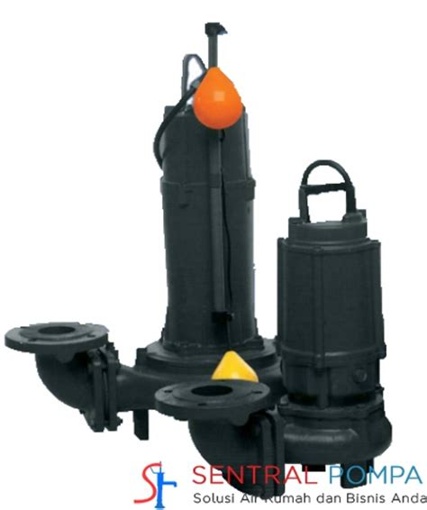 Pompa Submersible San Ei Pompa Submersible Sewage With Cutter 80dfa52 2 Automatic
