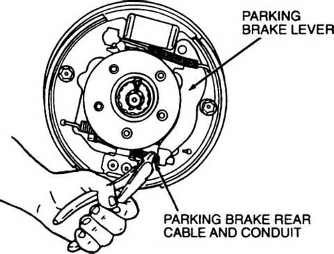 Ford Windstar Brake System Diagram 2001 Ford Windstar Rear Brakes Diagram