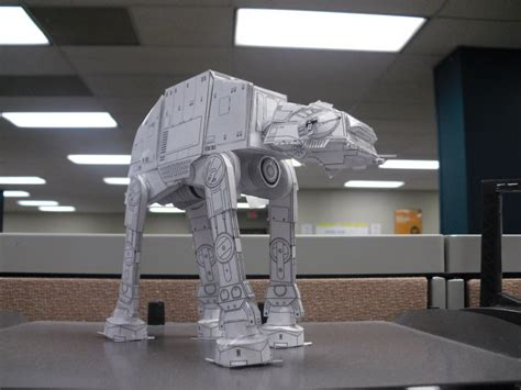 Papercraft At At - at at papercraft by darkf0rgd on deviantart