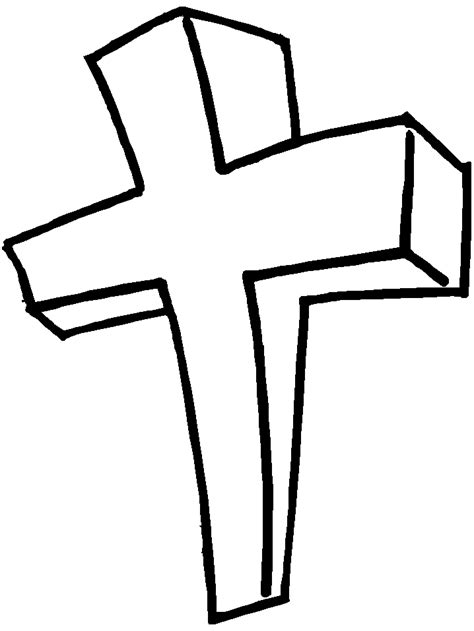Easter Cross Coloring Pages Coloring Home Coloring Pages Of Crosses