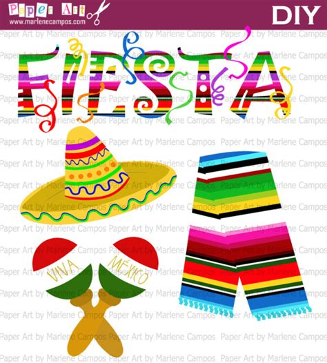 clipart festa mexican clip