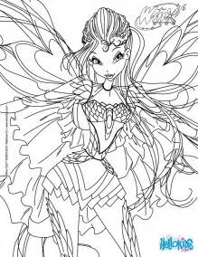 bloom transformation bloomix coloring pages hellokids