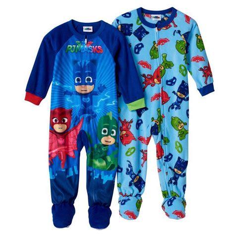 Pj Pj Pajamas pj masks catboy gekko pajamas blanket sleeper size 2t 3t