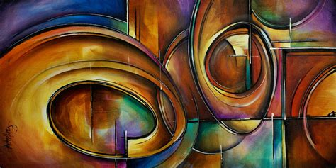 abstract the art of design abstract design painting by michael lang