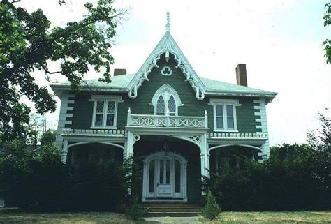 gothic revival home 19th century archtecture houses