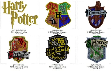 harry potter designs harry potter embroidery designs embroidery designs