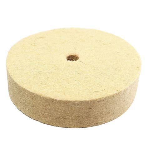 Ath 1 Inch 25mm Wool Felt Polishing Disc 2 3mm Backing Pad 4 inch 100mm polishing buffing wheel wool felt polisher disc pad alex nld
