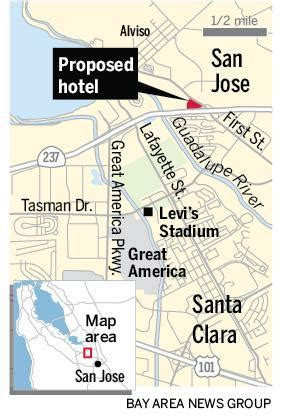 san jose homicide map 2014 new hotel planned for san jose the mercury news