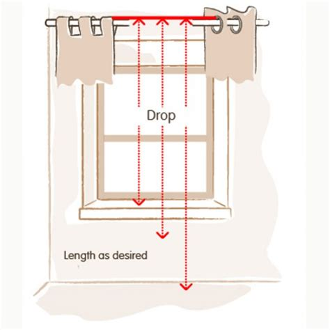 how to measure for curtains uk measuring drop for tab top and eyelet