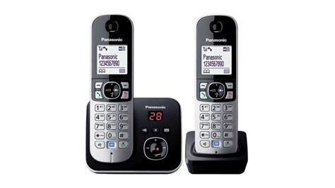 panasonic kxtg6822alb dect handset cordless phone