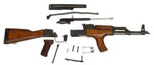 Item 7825258 romanian ak 47 fixed stock rifle parts kit ak47 for sale