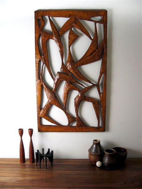 modern wall hanging mid century modern wall large brutalist