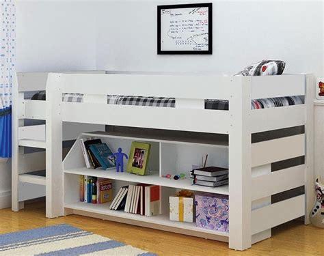 Lollipop Mid Sleeper Bed by Modern White Seconique Lollipop Bunk Bed Mid Sleeper Storage Ebay
