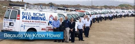 bill howe plumbing heating air conditioning inc san