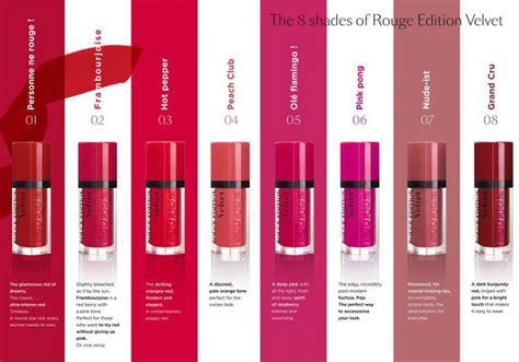 Borjouis Edition Velvet Lipstick Ist bourjois bourjois edition velvet lipstick review bulletin lipsticks