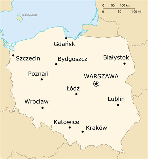 printable map of poland printable maps file map of poland based on cia png wikimedia commons