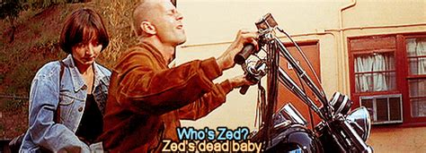 movie quotes zed s dead baby pulp fiction zeds dead baby gif find share on giphy