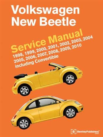 small engine service manuals 2006 volkswagen new beetle free book repair manuals volkswagen new beetle 1998 2010 service manual including convertible 0837616409 9780837616407
